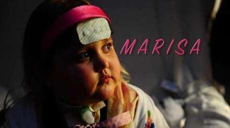 Marisa Carney, 5, was diagnosed with an extremely