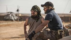 Chris Pratt (left) and Joel Edgerton play the