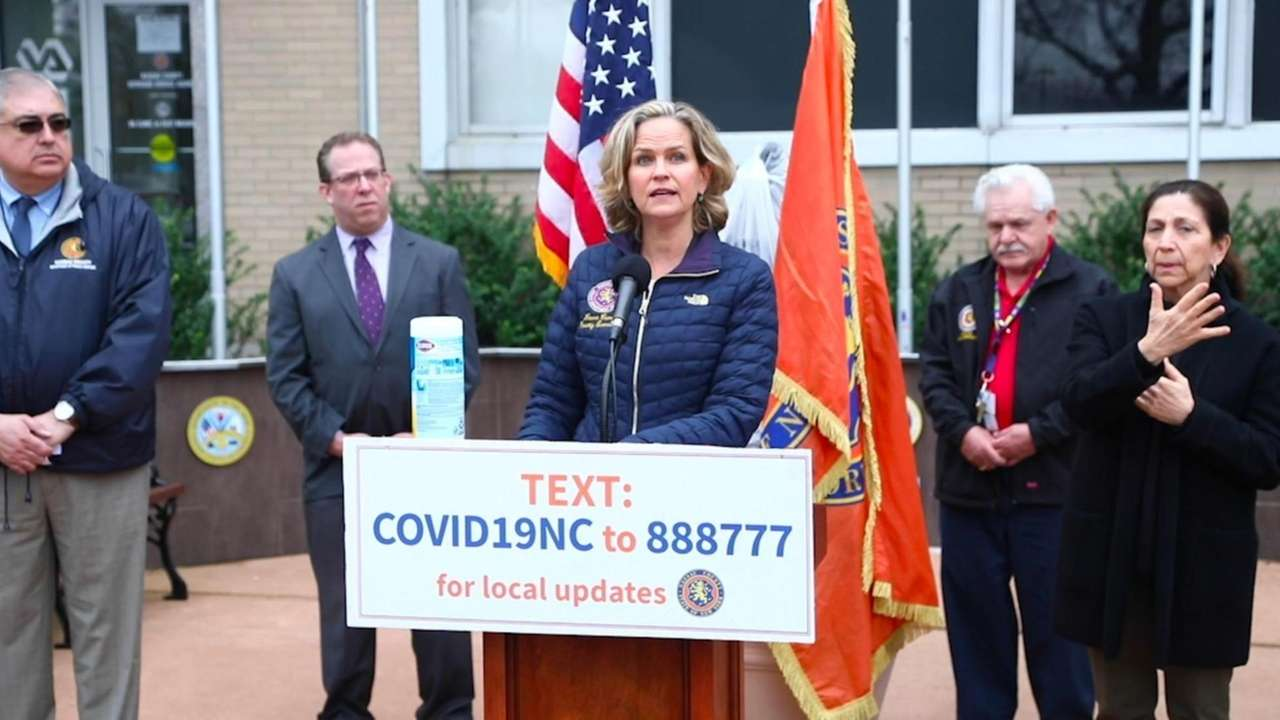 Nassau County Executive Laura Curran said Friday there