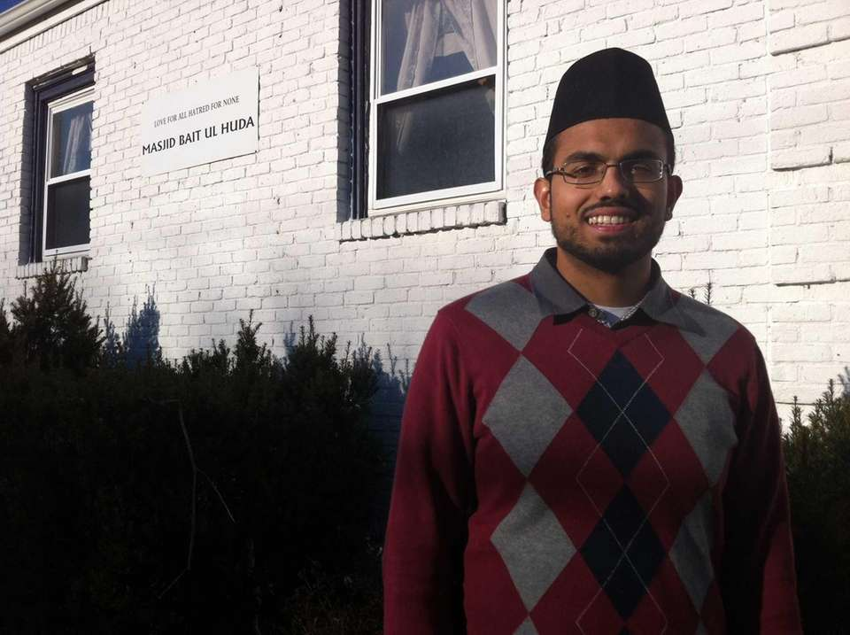 Salaam Bhatti, 26, of Islip, reached out to
