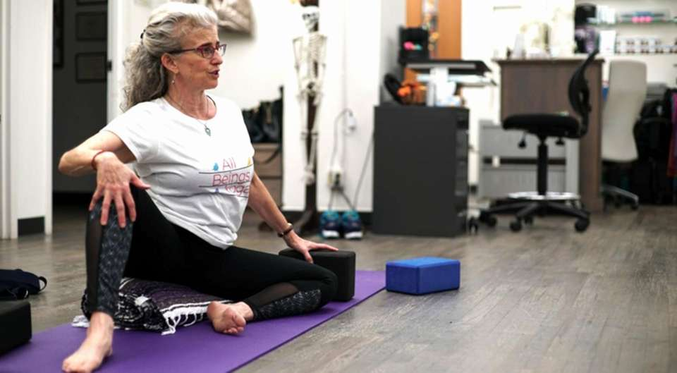 Instructor Anita Haravon (pictured) and the folks at