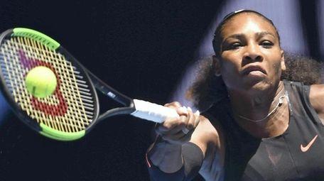 Serena Williams won the 2017 Australian Open.