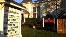 First United Methodist Church in Amityville. (Dec. 14,