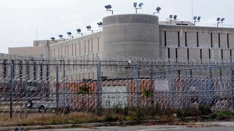 A corrections officers at the Suffolk County Correctional