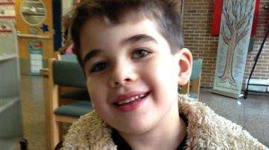 Noah Pozner, 6, seen in this family photo