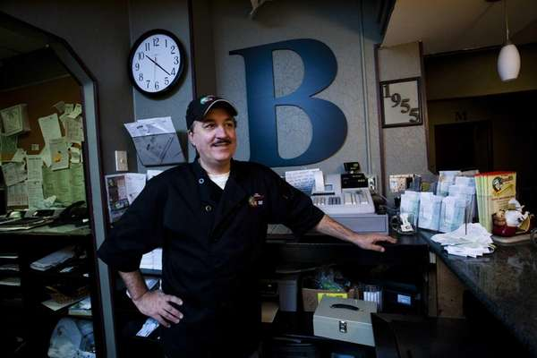 Frank Borrelli, 53, is the co-owner of Borrelli's,
