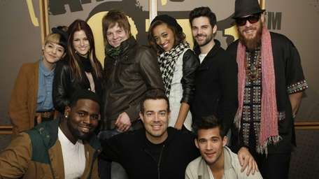 Contestants from NBC's