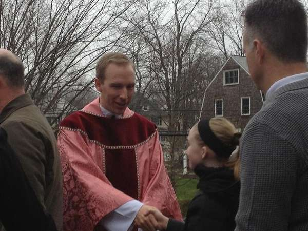 Father Michael Brisson of St. Mary of the