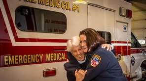 Mom Pam McDonough, retired EMT and charter member