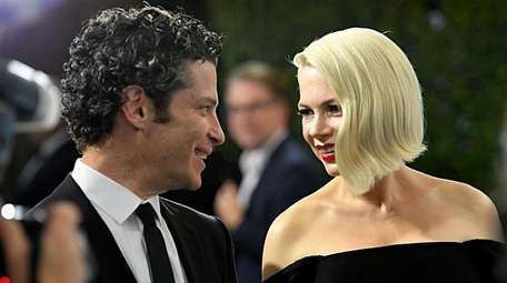 Thomas Kail and Michelle Williams attend the Screen