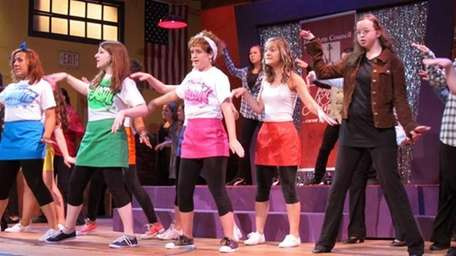Theater students perform at the Teeny Awards, held