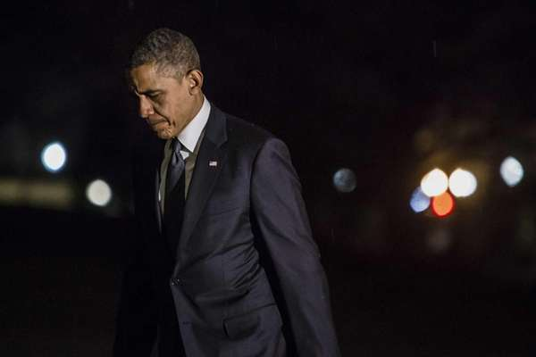 U.S. President Barack Obama returns to the White