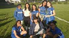 The Hempstead girls lacrosse team in 2019. Bottom