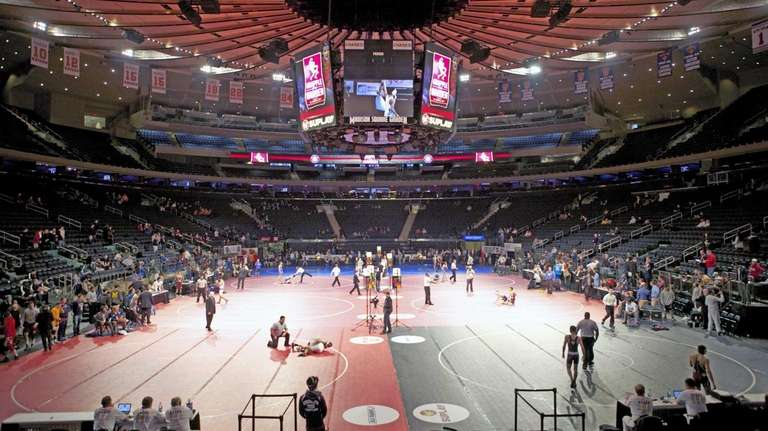 Grapple at the Garden takes place at Madison