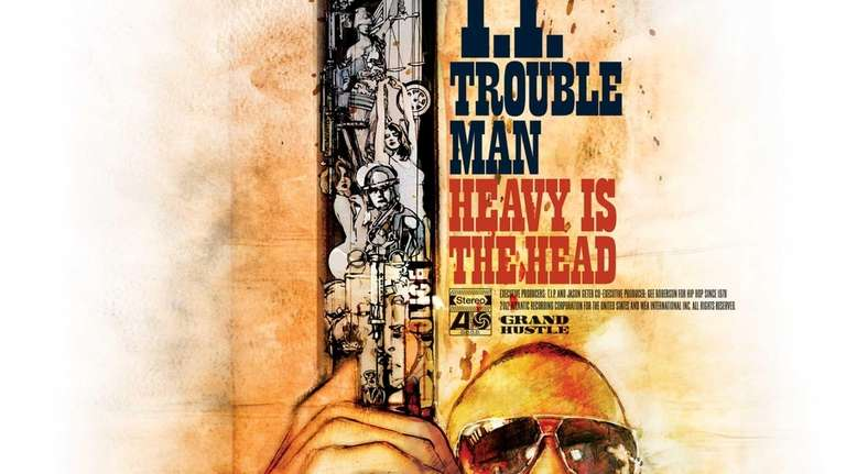 The cover for rapper T.I.'s album 'Trouble Man:
