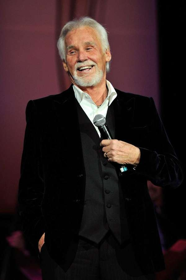 Musician Kenny Rogers performs during the 4th Annual