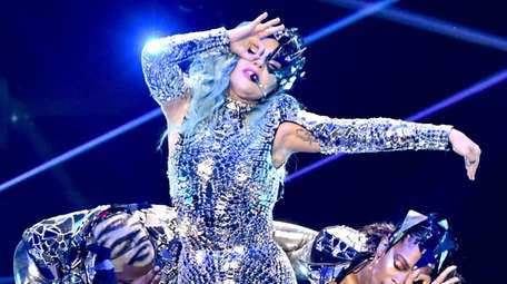 Lady Gaga performs onstage during AT&T TV