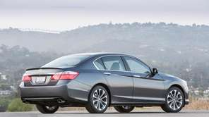 Redesigned for 2013, the Honda Accord features an
