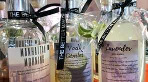 Spirits from Better Man Distilling Co. form the