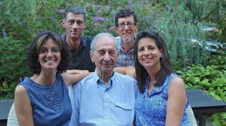 Randi Shubin Dresner, left, Philip Shubin, rear left,
