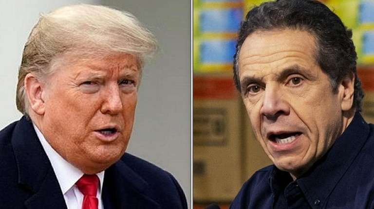 Cuomo shifts approach when he thinks Trump's response lags | Newsday