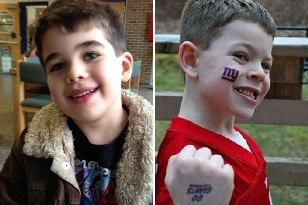 Noah Pozner, left, and Jack Pinto, both 6,