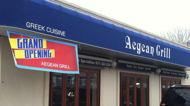 Aegean Grill takes over the former home of