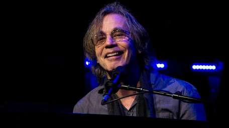 Jackson Browne performs in Boston on May 15,