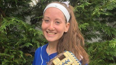 Bellmore JFK softball player Morgan Tesser.