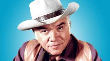"Lorne Greene starred as Ben Cartwright on ""Bonanza."""