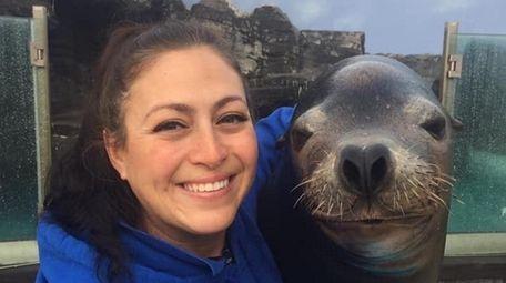 At the Long Island Aquarium in Riverhead, staffers
