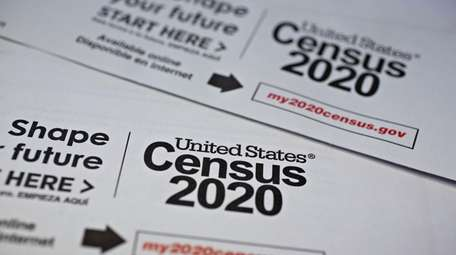 U.S. Census 2020 mailings are arranged for a