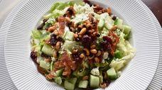 The chopped salad, a perennial favorite at Sandbar,