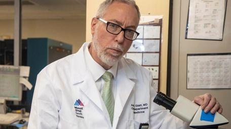 On the coronavirus,  Dr. Aaron E. Glatt,