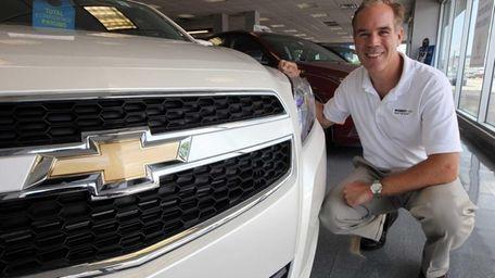 Scott Brown, co-owner of Robert Chevrolet in Hicksville,