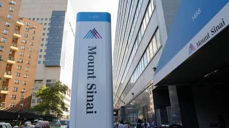 Mount Sinai Hospital, seen in 2014, said the