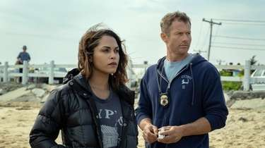 Monica Raymund plays Jackie Quiñones and James Badge