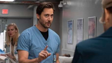 Ryan Eggold stars as Dr. Max Goodwin on