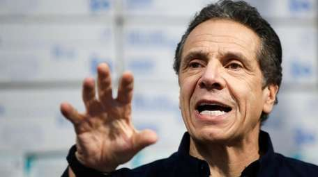 Gov. Andrew M. Cuomo at the Jacob Javits
