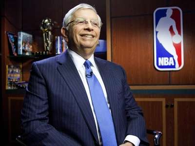 David Stern, commissioner of the National Basketball Association