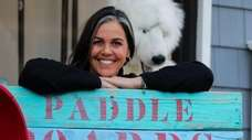 Karen Marvin, owner of South Shore Paddleboards in