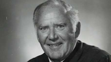 Nassau County Judge Raymond Harrington died on March