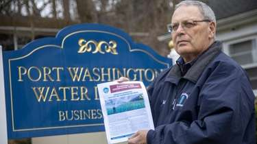 Port Washington Water District Superintendent Italo Vacchio said