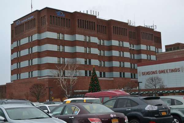 Roads around Southside Hospital in Bay Shore repaved   Newsday