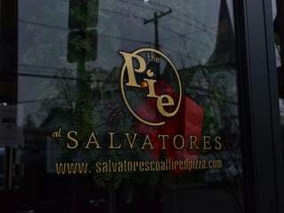 The Pie at Salvatore?s is located off Main
