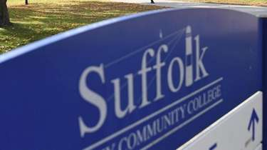 About 600 Suffolk County Community College workers, along