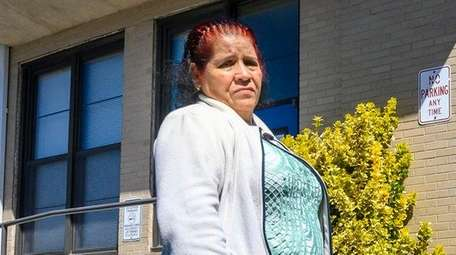Zoila Mazariego, of Riverhead, worked at a duck