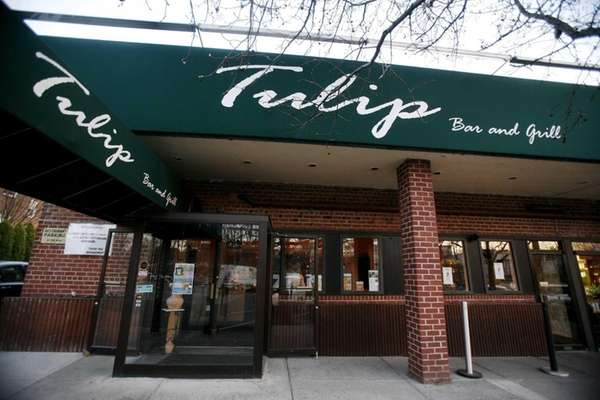 Exterior shot of Tulip, a Turkish restaurant in