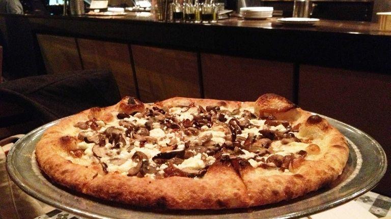 The Caprino pizza at San Marzano in Merrick,