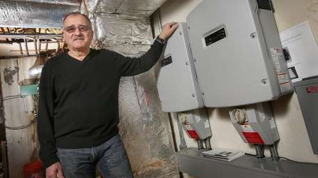 Tony Palumbo, by the power inverters installed in